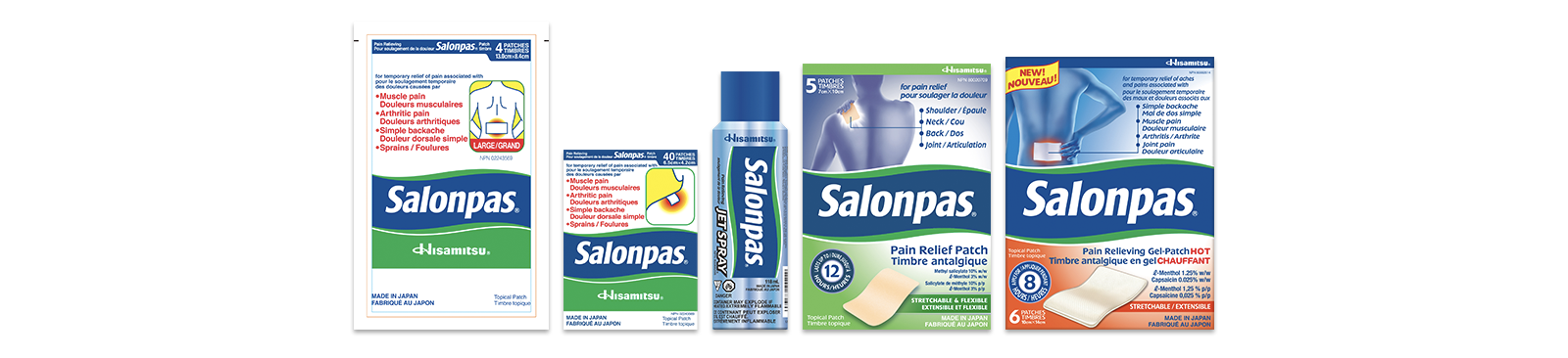 Salonpas Products